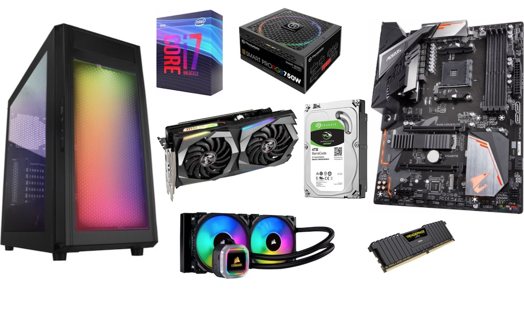 What do you need to build a PC?